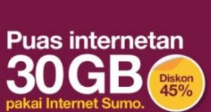 paket internet murah three