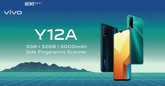 vivo Y12A launched in Malaysia: Priced at RM529