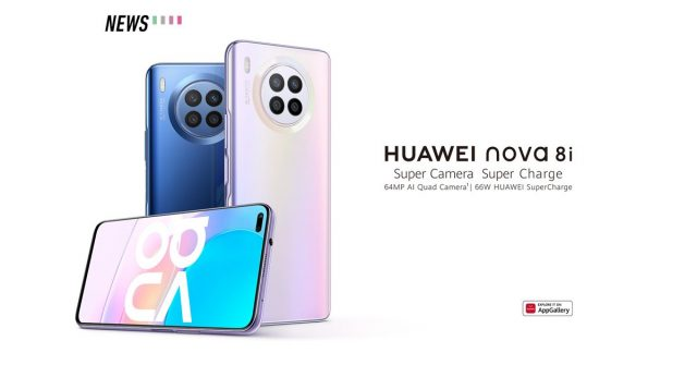 HUAWEI nova 8i launched with a 64MP quad camera and 66W fast charging
