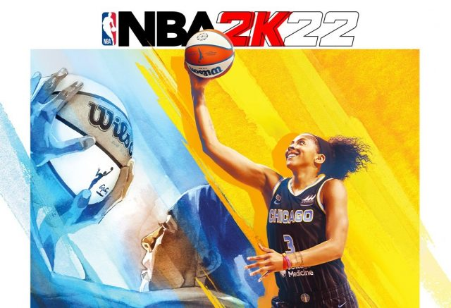 Candace Parker is NBA 2K's first female cover athlete
