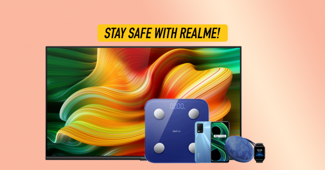 5 tips to stay safe and positive at home with realme