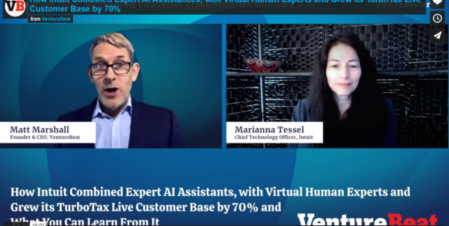 Intuit expanded userbase with AI assistants and virtual human experts