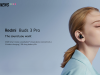 Redmi Buds 3 Pro launched with AI noise cancellation and wireless charging