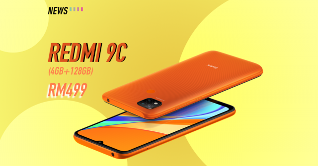 Redmi 9C now available in 4GB + 128GB storage variant; priced at RM499