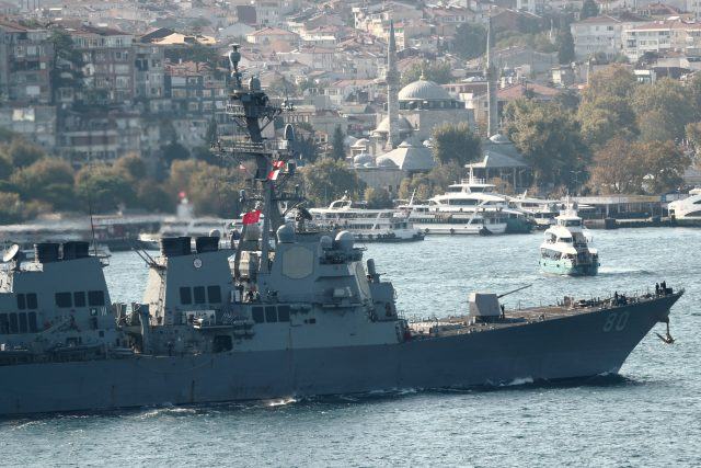 Over 100 warship locations have been faked in one year