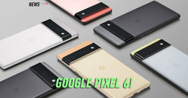 This is the Google Pixel 6 series