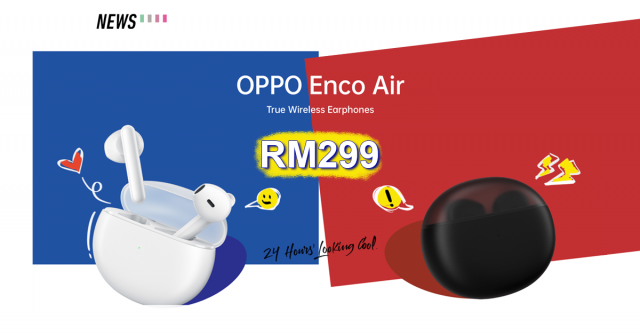 OPPO Enco Air now available in Malaysia for RM299