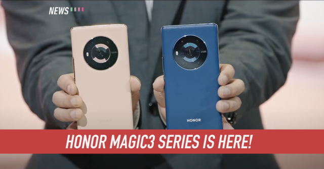 Honor Magic3 series announced globally with Snapdragon 888+ chipset and 66W fast charging