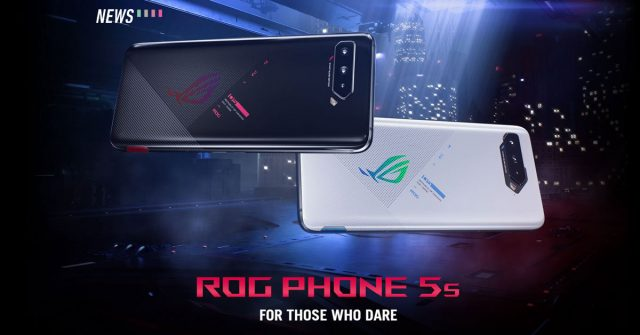 ASUS ROG Phone 5s series launched with Snapdragon 888+