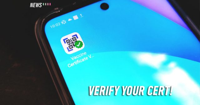 You can now verify your vaccination certificate with an app