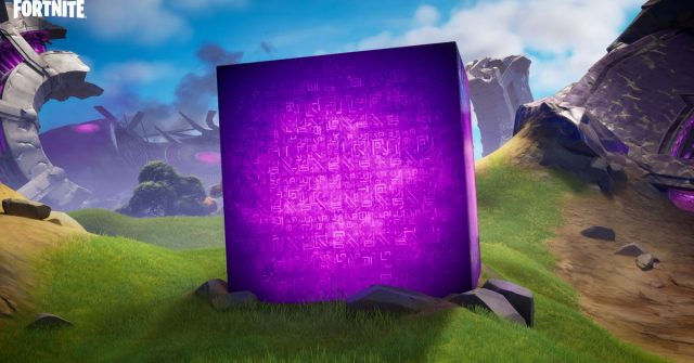 Fortnite season 8 is all about the cubes