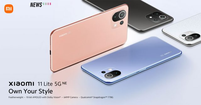 Xiaomi 11 Lite 5G NE launched with more powerful Snapdragon 778G chipset