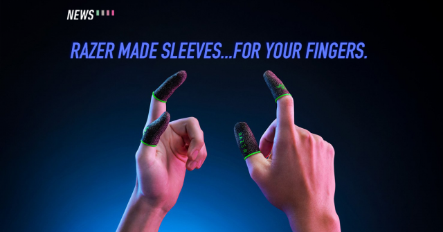 Razer's latest product is a gaming finger sleeve