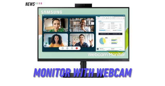 Samsung launches 24-inch Webcam Monitor S4: comes with 2MP pop-up camera